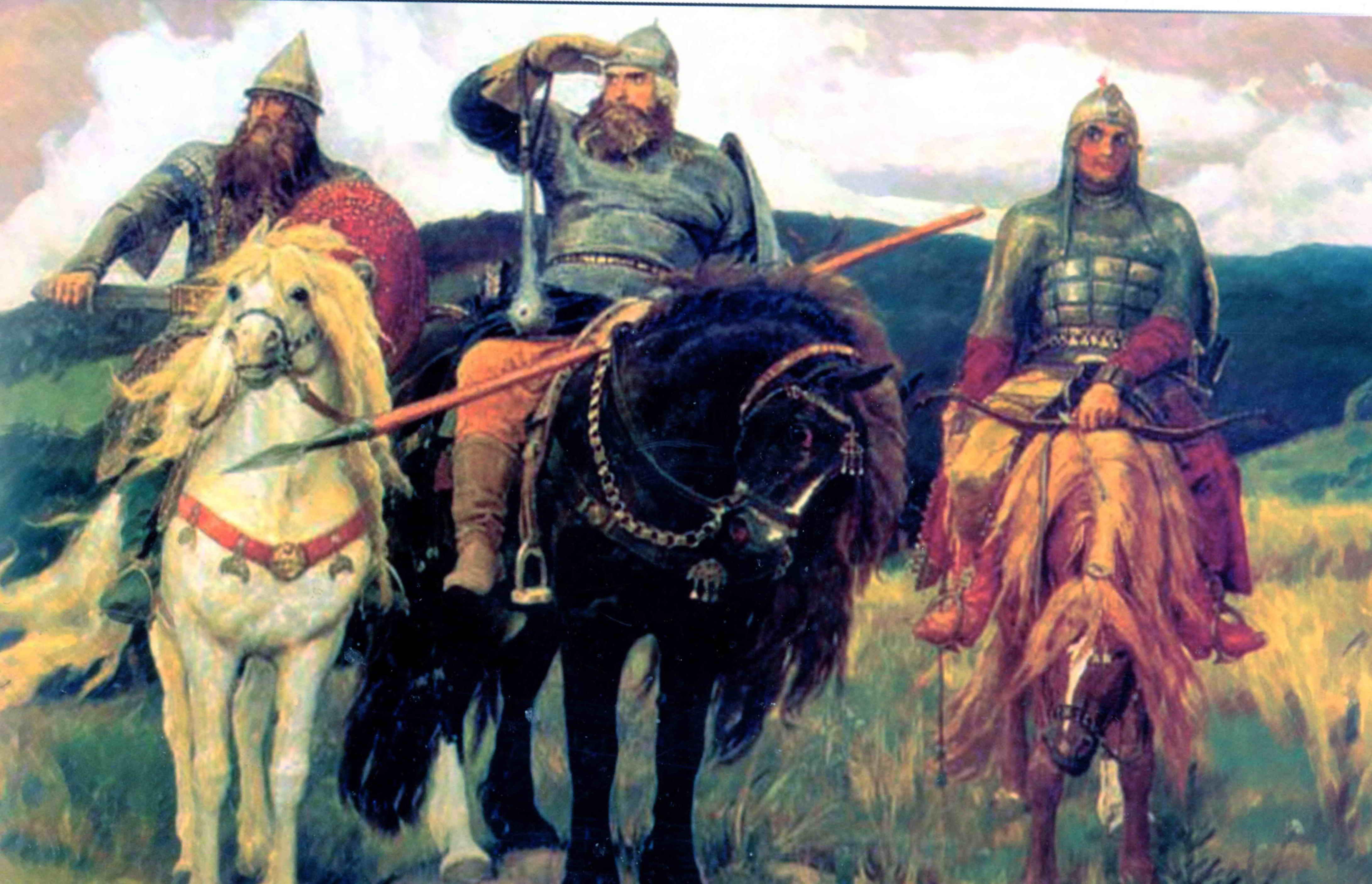 Три богатыря и шамаханская